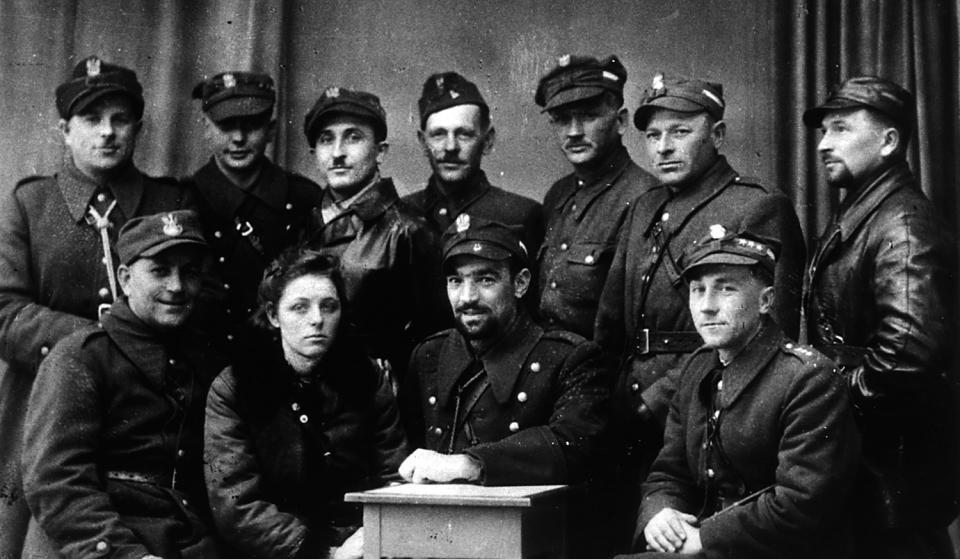 Spadochroniarze z NSZ