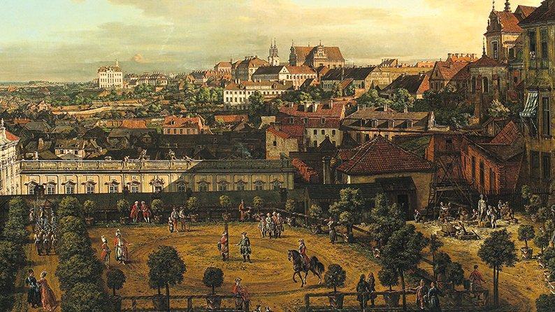 Warszawa w czasach Canaletta