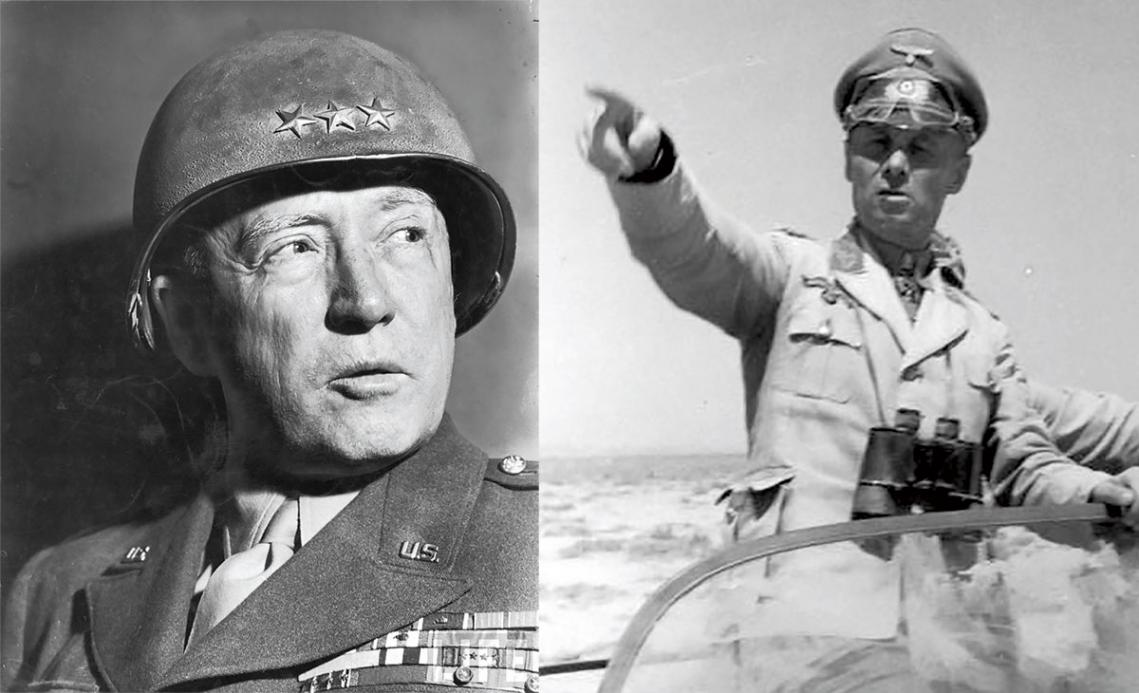Wielcy rywale. Patton kontra Rommel