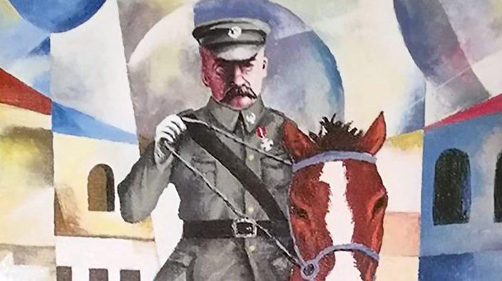 Piłsudski i Polska na afrykańskich obrazach
