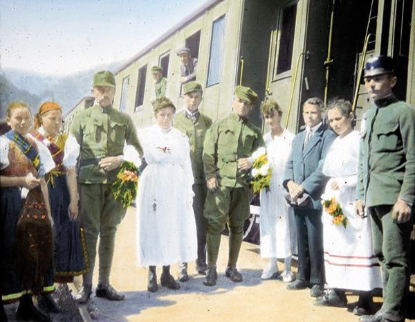 Przygody Czechów w Rosji
