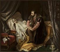 Śmierć Barbary  Radziwiłłówny