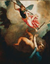 Upadek szatana, czyli  historia wojny w Niebie