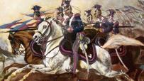 Polscy ułani szarżują za sprawę Rothschildów