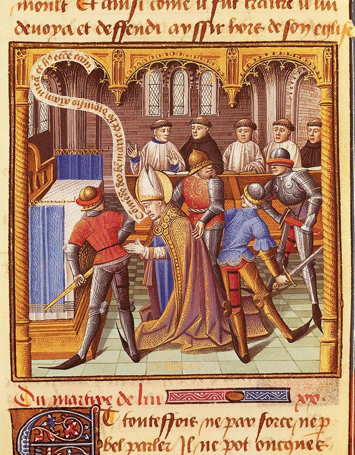 Henryk II kontra Tomasz Becket