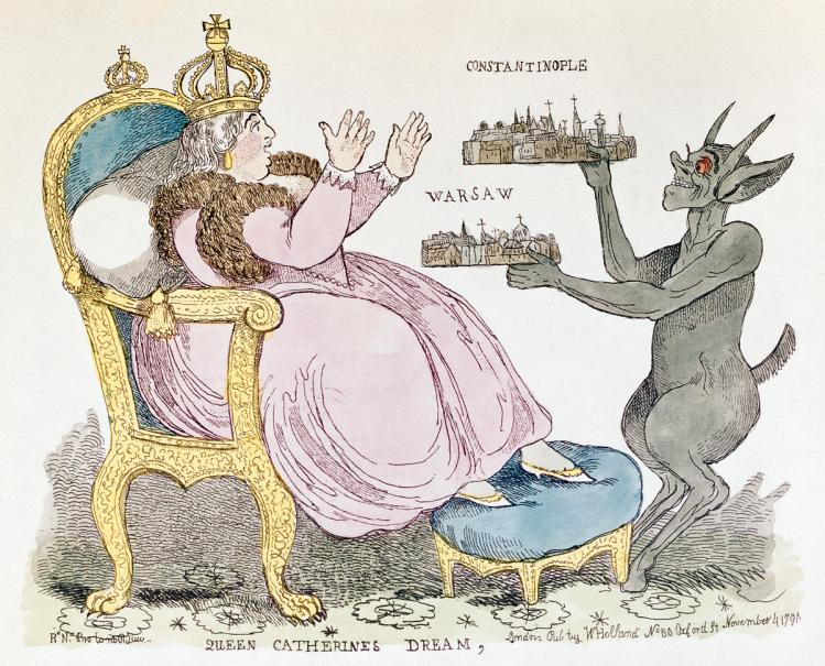 Katarzyna II wobec  Konstytucji 3 maja
