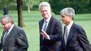 Bill Clinton  i jego hojni sponsorzy