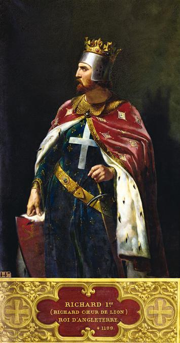Śmierć Ryszarda Lwie Serce