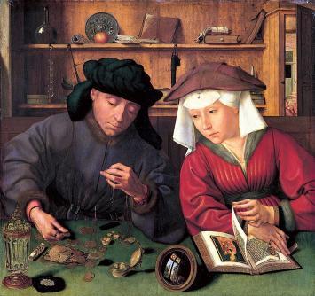 Przedsiębiorcy  w średniowiecznym mieście