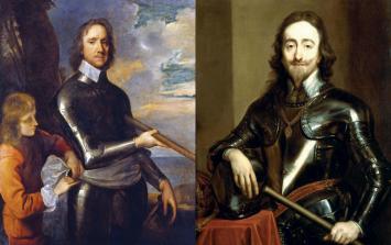 Wielcy rywale. Król Karol I Stuart kontra Oliver Cromwell