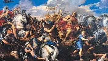 Aleksander Macedoński kontra Dariusz III